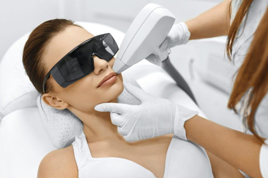 laser du visage