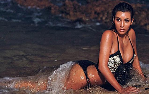Kim Kardashian : une taille de guêpe grâce à …….. la liposuccion !